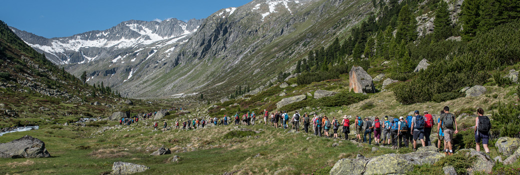 Alpine Peace Crossing - Peace Hike 2017