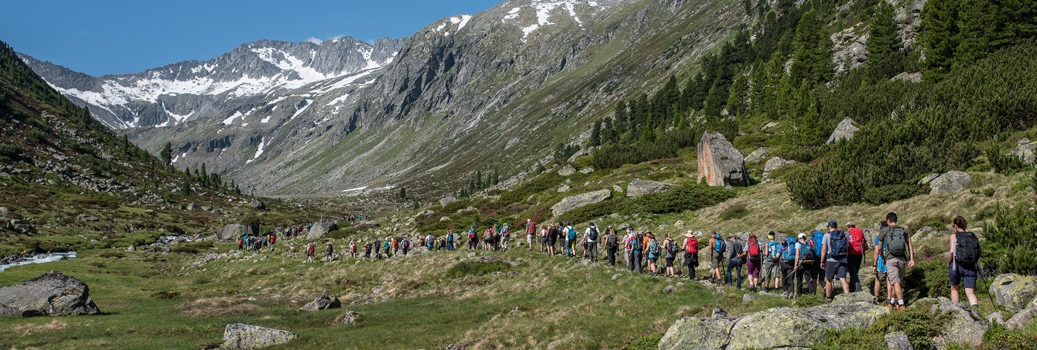 Alpine Peace Crossing - Friedenswanderung 2017